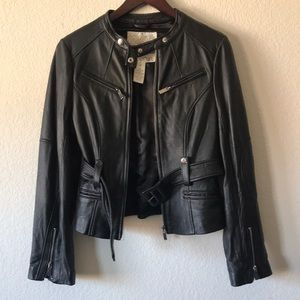 Arden B. Genuine leather jacket